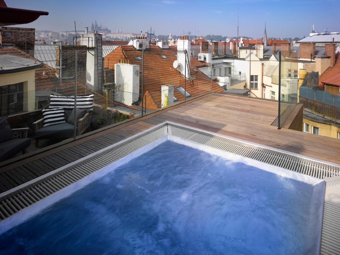 Rooftop Jacuzzi