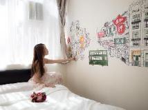 Alohas Hong Kong Hostel: interior