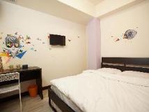 Alohas Hong Kong Hostel: double