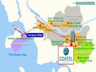 Coatel Chereville Residence Seoul - Map