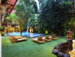 Green Garden Hotel Bali - View from Restaurant