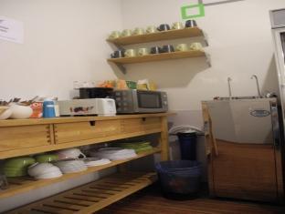 Submarine Guest House - China Town Kuala Lumpur - Kitchen Area