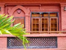 Manaw Thu Kha Hotel: balcony/terrace