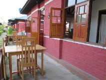 Pyi Guest House: restaurant