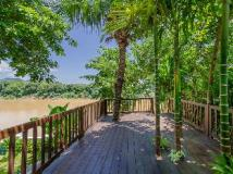 Kiridara Villa Ban Visoun: balcony/terrace
