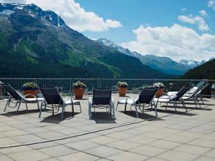 Crystal Hotel Superior Saint Moritz - Balcony/Terrace