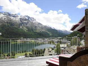 Schweizerhof Swiss Quality Hotel Sankt Moritz - Balkong/terasse