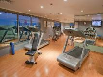 Ascot Hotel: fitness room