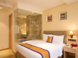 Luxus Doppelzimmer mit Stadtblick