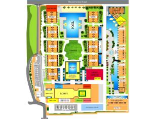 Phuket Graceland Resort & Spa Phuket - Půdorysy