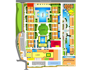 Phuket Graceland Resort & Spa Пхукет - Поэтажный план здания
