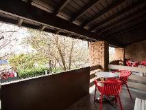 The Ranch Hotel: balcony/terrace