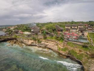 The Palms Ceningan Hotel Bali - from the sky