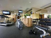 The Harbourview Hotel: fitness room