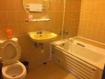 Adia Budget Hotel: bathroom