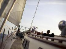 Hotel Sailing Yacht Meta IV by Burma Boating: exterior