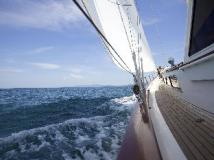 Hotel Sailing Yacht Meta IV by Burma Boating: view