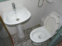 Everest Hostel: bathroom