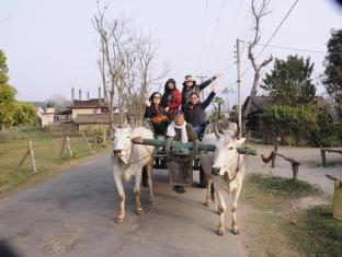 Green Park Resort Chitwan Chitwan - Tharu Village Tour on Oxcart