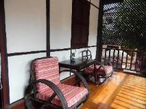Mekong Sunset Guest House: balcony/terrace