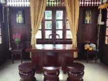 Villa Senesouk Riverside: reception