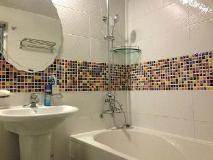 Luna Motel: bathroom