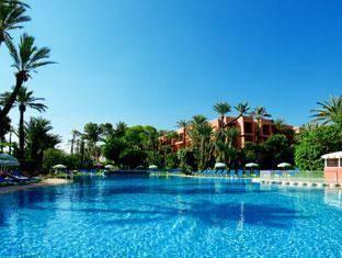Hotel Marrakech Le Semiramis Marrakech - Zwembad