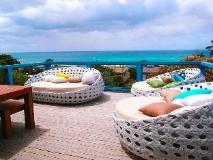 Omaroo Holiday House: balcony/terrace