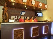 M3 Hotel: reception