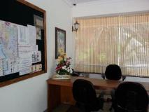 Casa Amarilla: reception