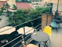 Hostel Samcheongdong: balcony/terrace