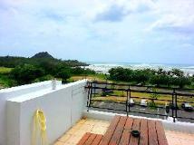 Tz Shin Hostel: balcony/terrace
