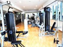 Dubai Apartments - The Greens - Golf Tower: fitness room