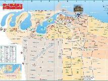 Radisson Blu Resort Sharjah: map
