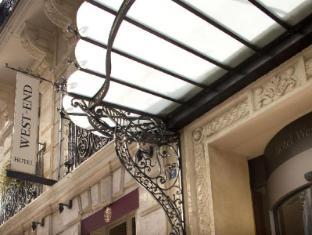 West End Hotel Paris - Entrance
