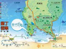 Julie's Garden - Kenting Bay: map
