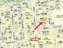 Mirador Hostel: map