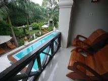Shwe Taung Tarn Hotel: balcony/terrace