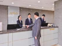 Jeju Avillos Serviced Residence: reception