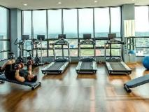 Jeju Avillos Serviced Residence: fitness room