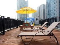 24 Guesthouse Namsan: balcony/terrace