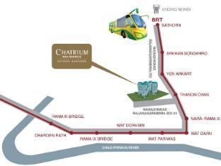 Chatrium Residence Bangkok Sathorn Bangkok - Map