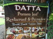 Datta Banana Leaf Restaurant and Bungalow: restaurant