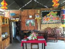 Datta Banana Leaf Restaurant and Bungalow: interior