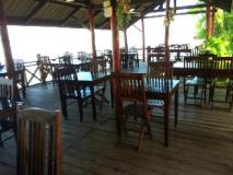 Rattana Riverside Guesthouse: restaurant