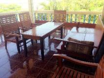 Don Khong 1 Guesthouse: balcony/terrace