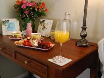 Highclaire House: food and beverages
