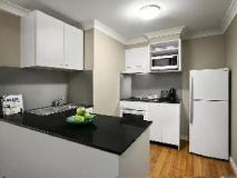 Quest North Ryde: kitchen