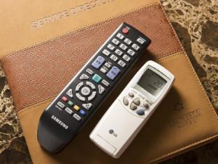 Provista Hotel Gangnam Seoul - Remote controls