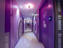 O2 Motel: entrance